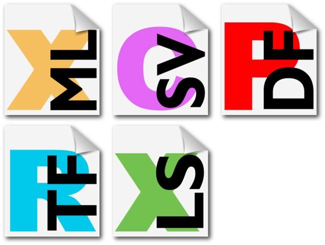 Выводим иконки типов файлов возле каждой ссылки на чистом CSS