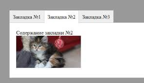 Вкладки-Табы на CSS