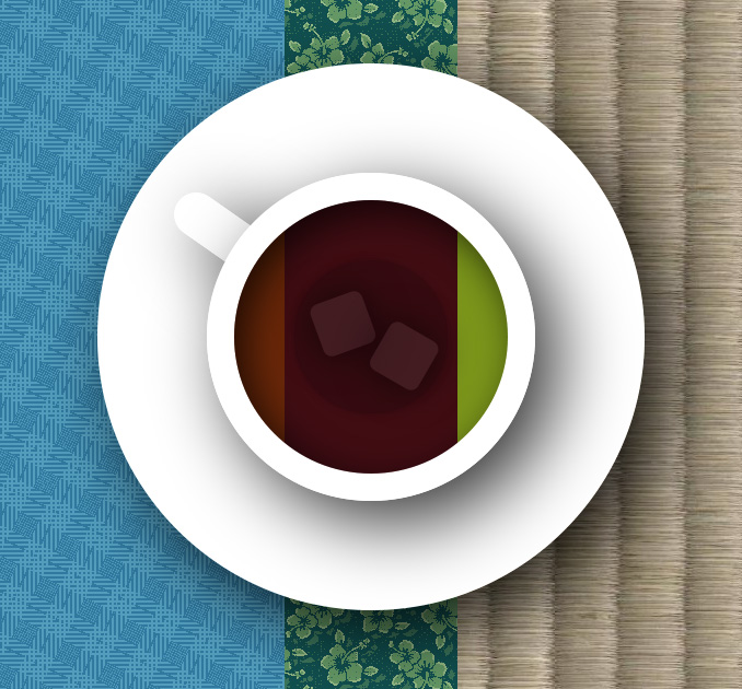 Чашка чая на CSS3